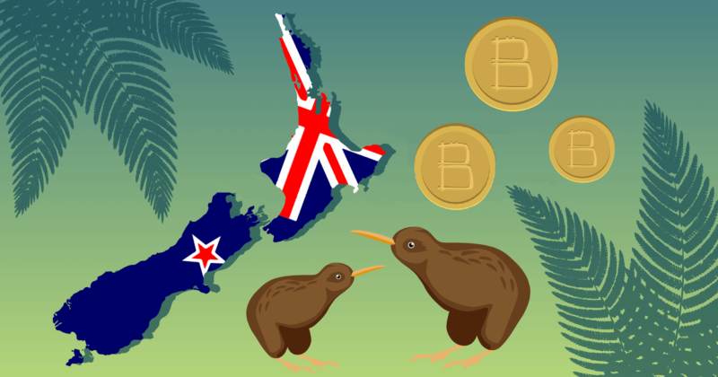 The illustration for guidance on how to buy Bitcoin (BTC) in New Zealand (NZ)